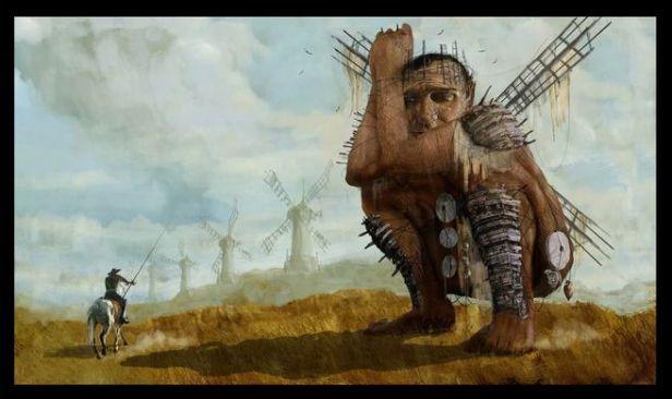 Quixote-windmills
