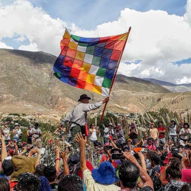 wiphala flag-bolivia