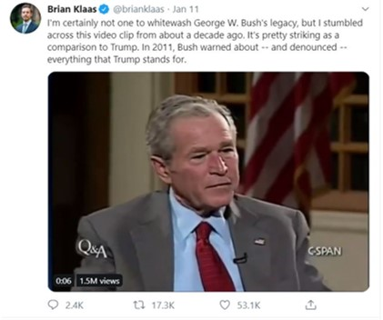 GWBush on isolationism